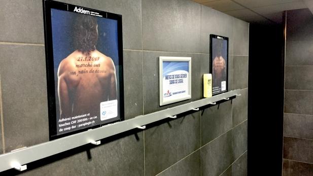 Campagne du Centre suisse des paraplégiques